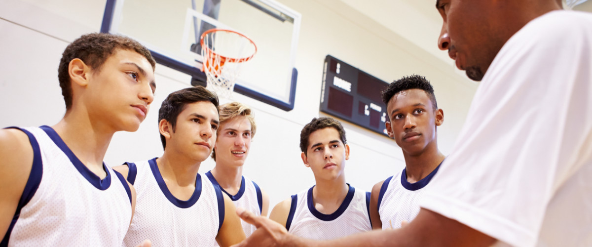 Coaching a high school basketball team