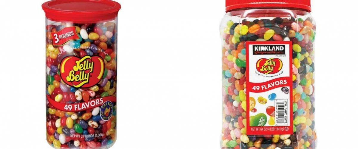 Jelly Belly and Kirkland Signature Jelly Belly