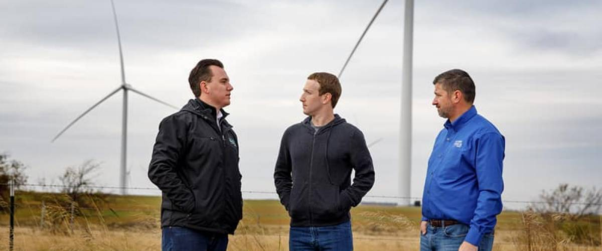 Mark Zuckerberg visits Duncan, Oklahoma, on Nov. 8, 2017, as part of his 50-state tour.