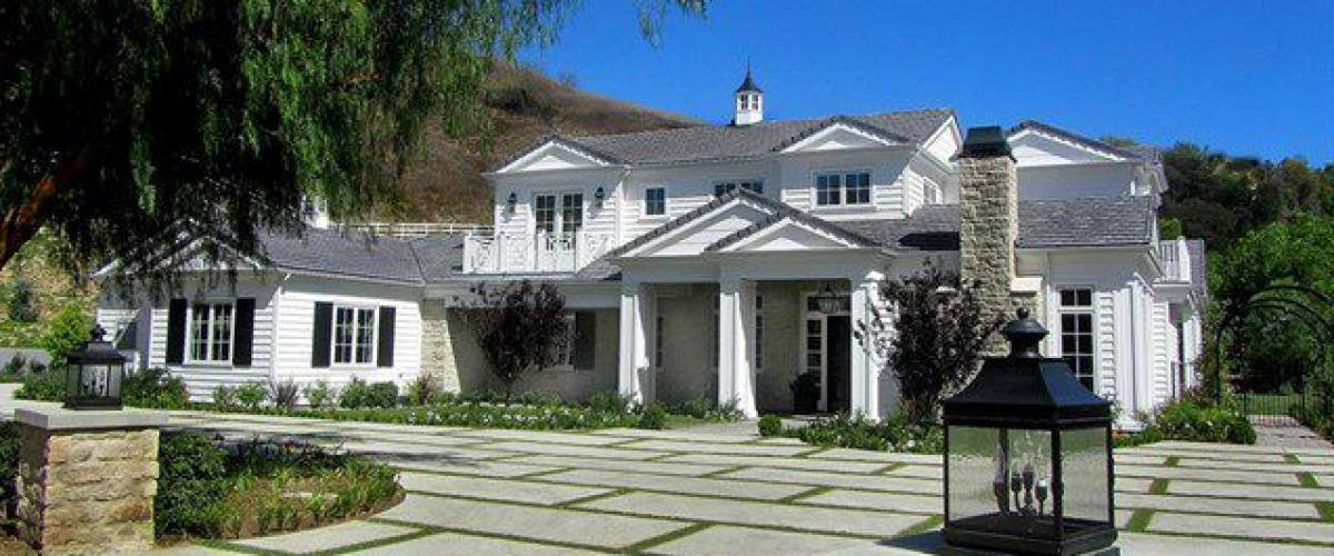 Kylie Jenner's $6 million mansion in Hidden Hills, California.