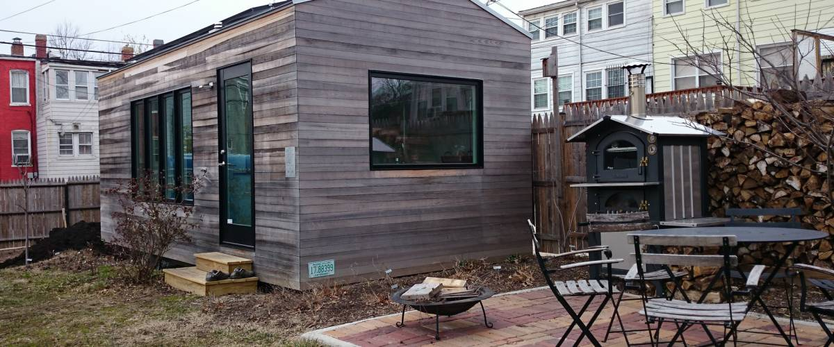 Tiny house on a lot in Washington, D.C.