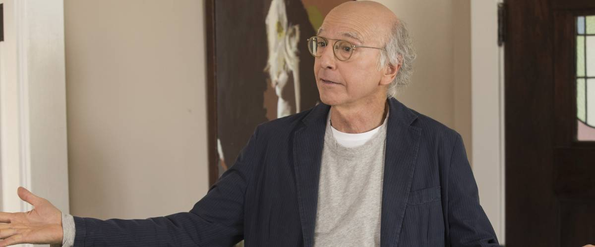 Larry David in a scene from