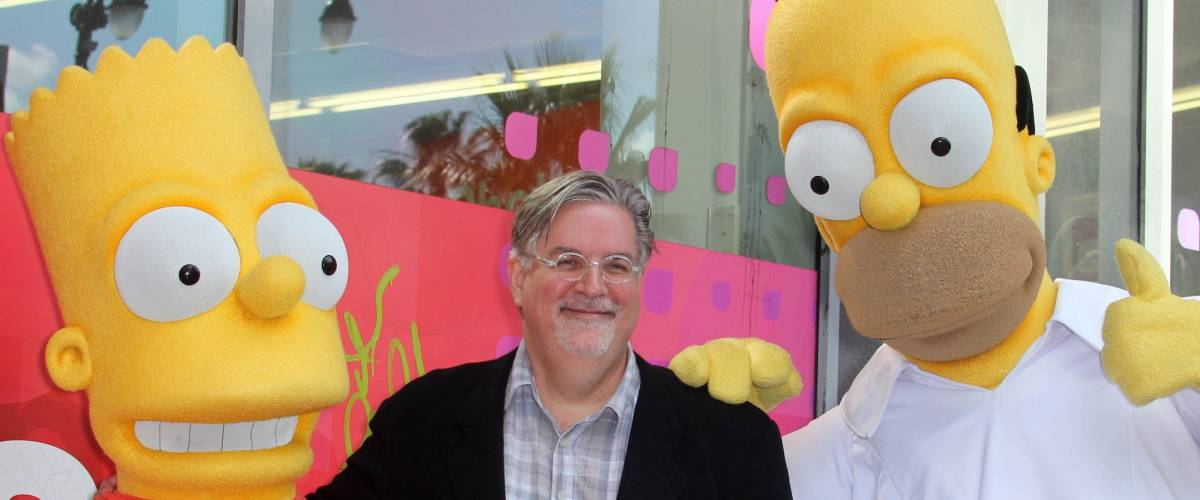 Matt Groening at the Matt Groening Star on the Hollywood Walk of Fame Ceremony, Hollywood, CA 02-14-12