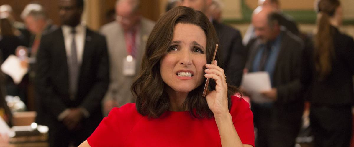Julia Louis-Dreyfus in a scene from