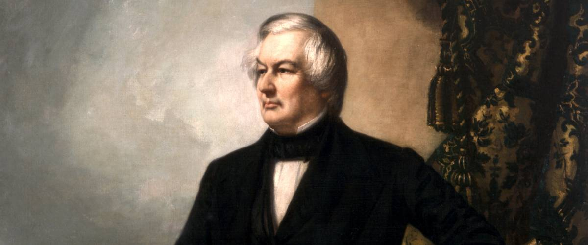 President Millard Fillmore official presidential portrait by G.P.A. Healy