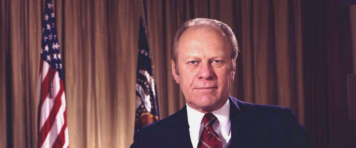 President Gerald R. Ford by David Hume Kennerly