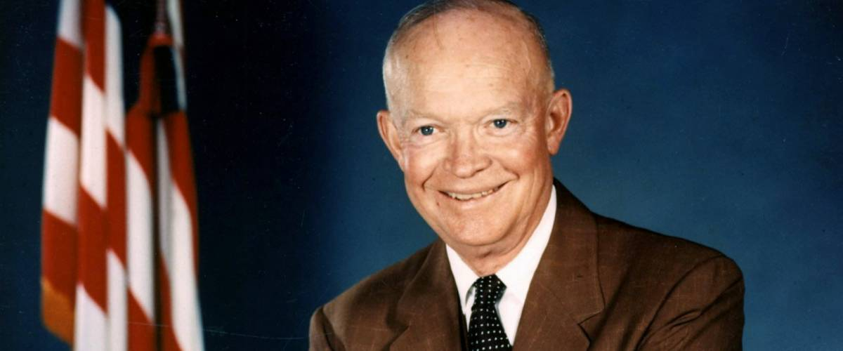 Dwight D. Eisenhower official photo portrait