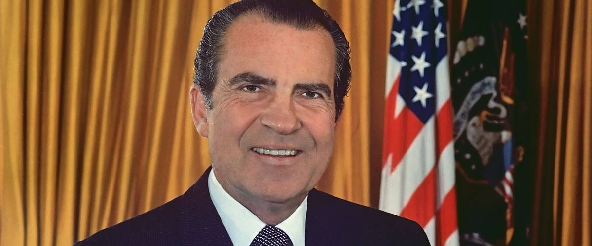 Official White House photo of President Richard Nixon by White House Photo Office