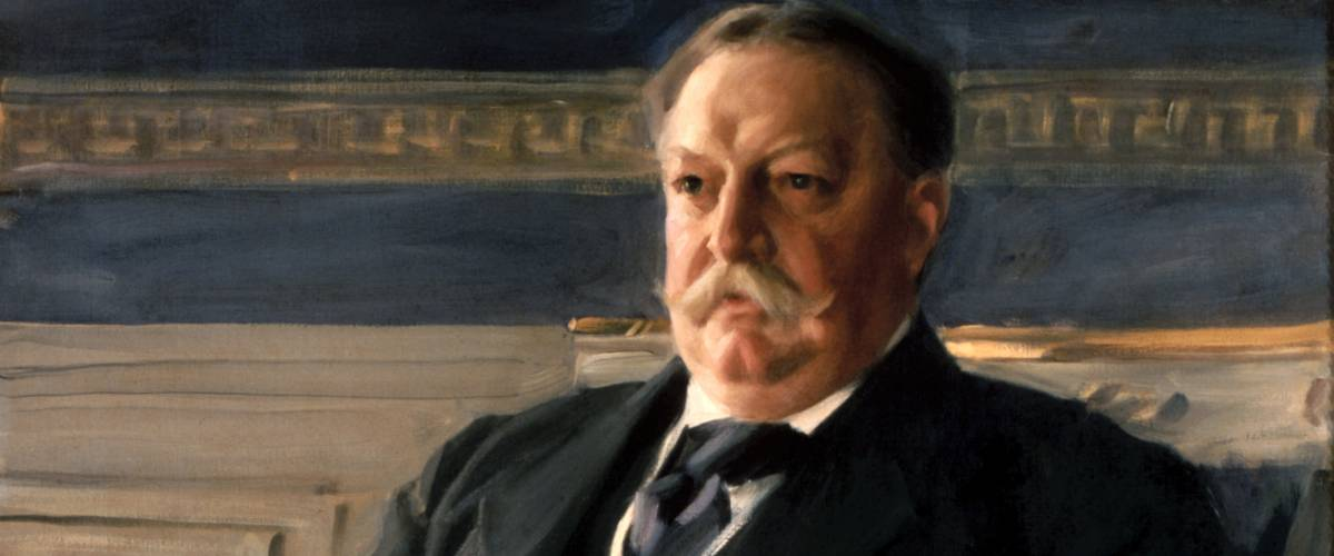 Official presidential portrait of William Howard Taft by Anders Zorn.