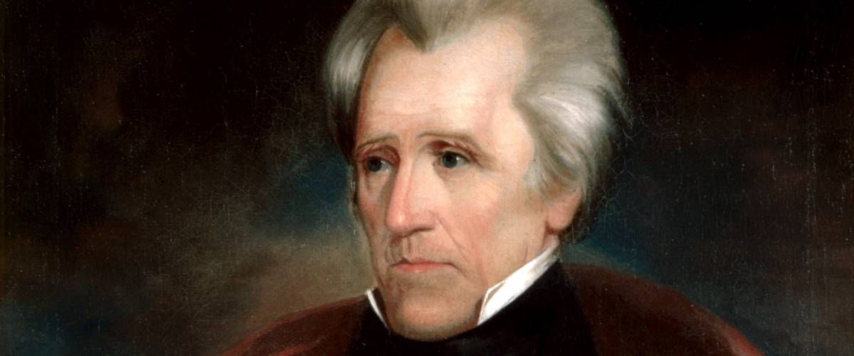 Official presidential portrait of Andrew Jackson by Ralph Eleaser Whiteside Earl