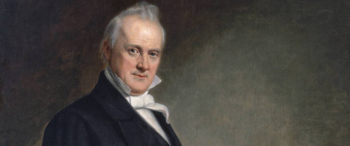 Official presidential portrait of James Buchanan by George Peter Alexander Healy