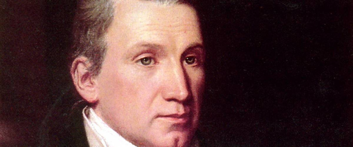 James Monroe portrait by William James Hubbard, ca. 1832.
