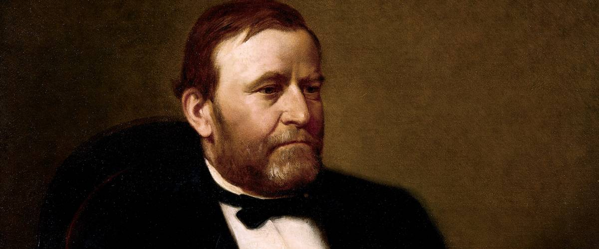 Official Presidential portrait of Ulysses Simpson Grant by Henry Ulke