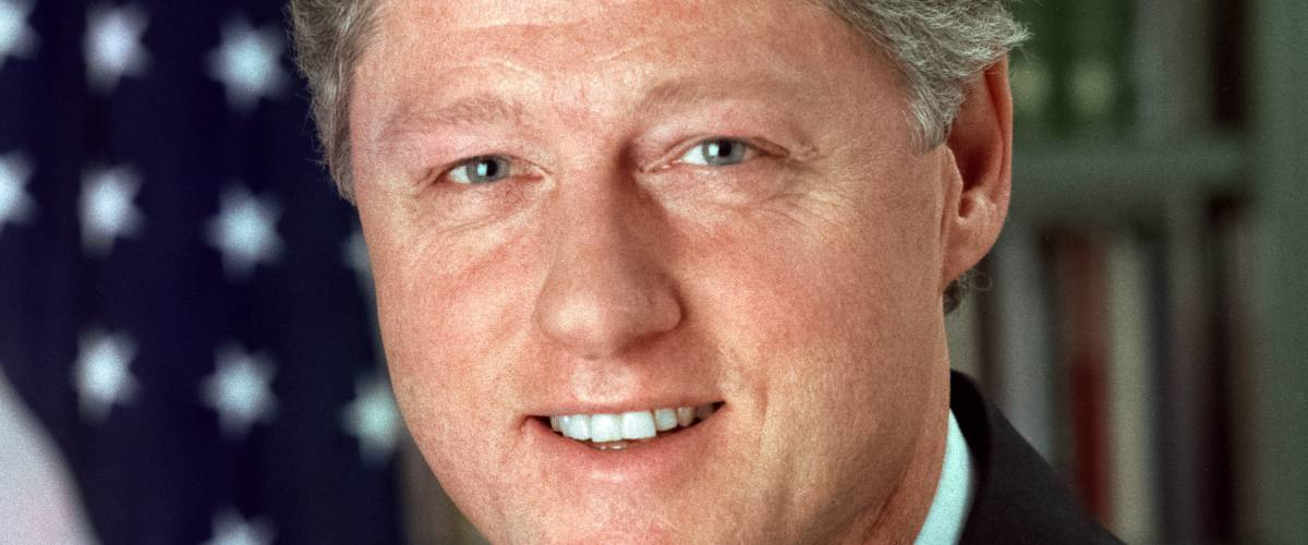 President Bill Clinton. White House official photo