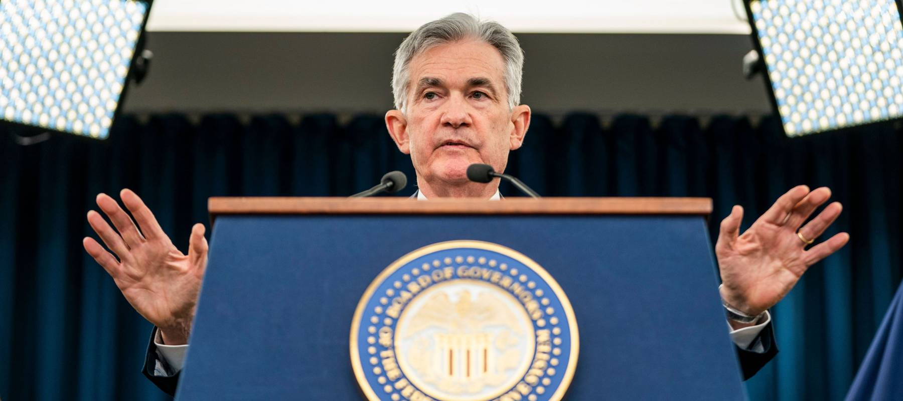 16th Chair of the Federal Reserve, Jerome Powell