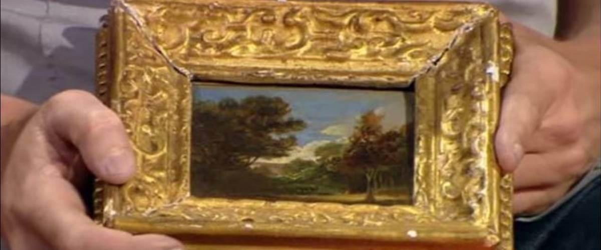 A John Constable landscape painting worth over $390,000.