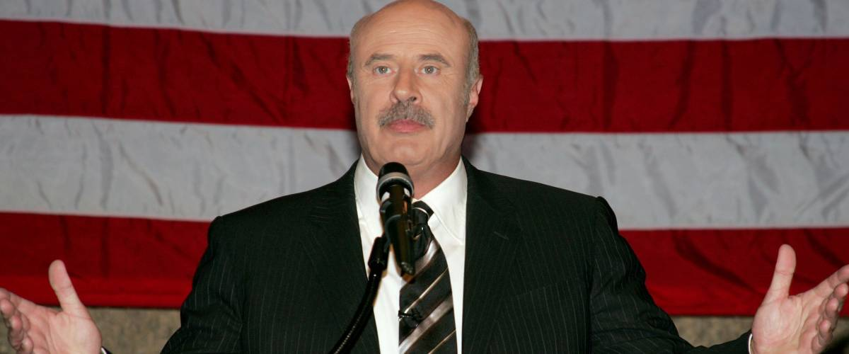 LOS ANGELES - OCT. 4: Dr. Phil McGraw at