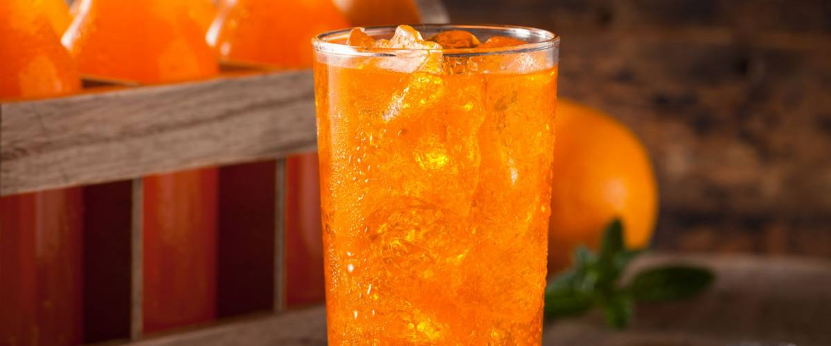 Refreshing Orange Cream Soda Ready to Drink