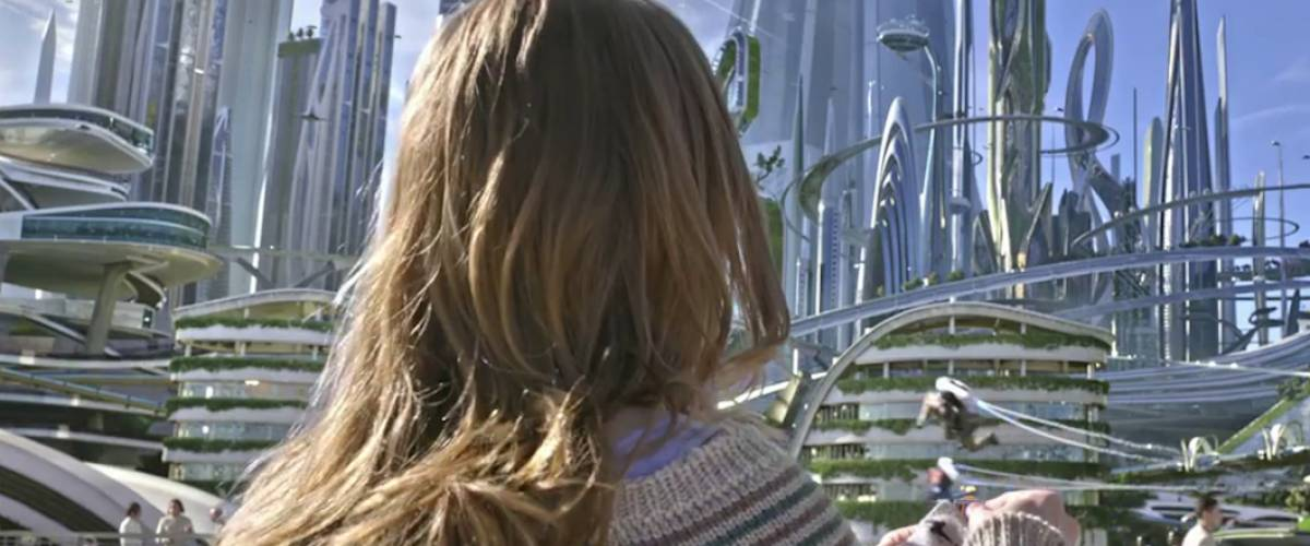 Scene from Tomorrowland (2015)