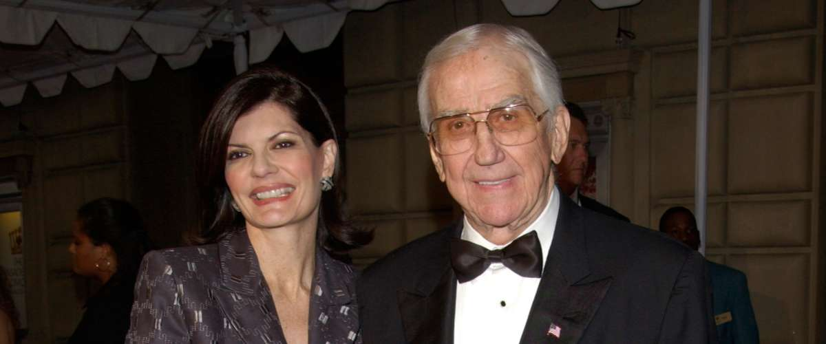 Former TV presenter Ed McMahon and his wife