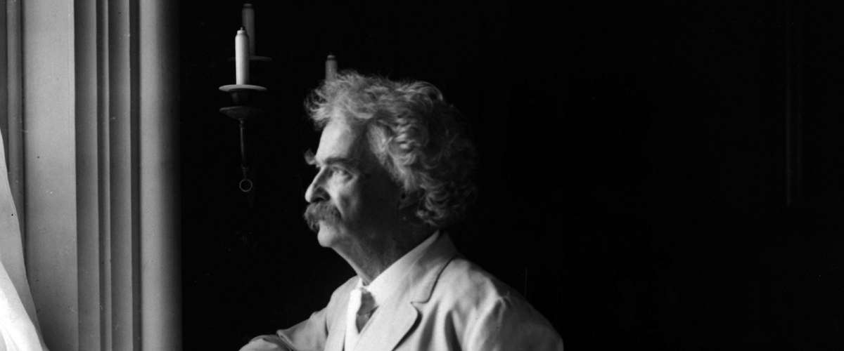 Mark Twain 1907 Portrait
