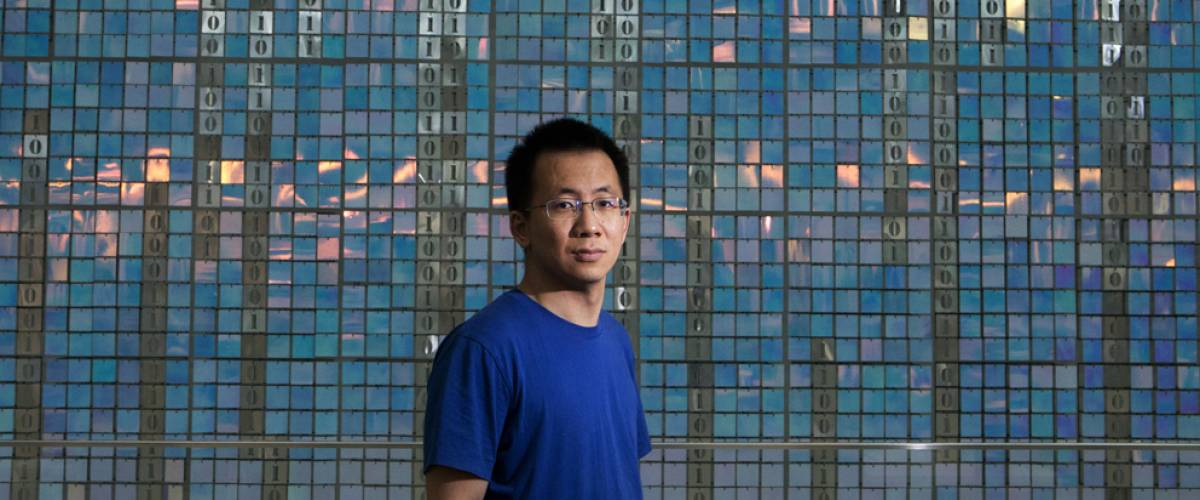 Zhang Yiming is the founder and CEO of Toutiao.