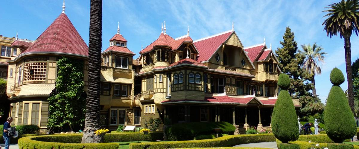San Jose, California, USA - April 02, 2016: Winchester Mystery House