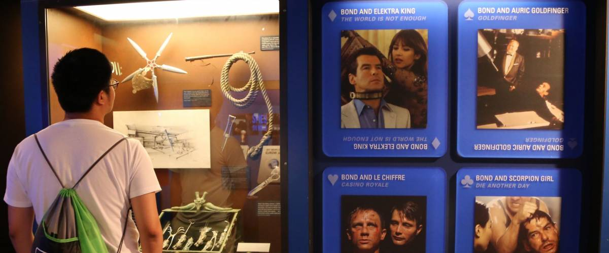 WASHINGTON, DC - 23 JUN: International Spy Museum in Washington, DC, the United States on 23 June 2017