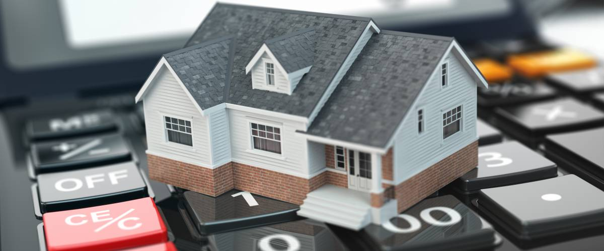 House on calculator