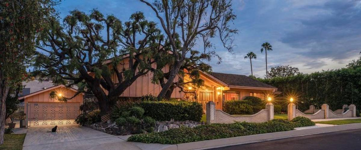 The home in Studio City, California, that was used as the 'Brady Bunch' house