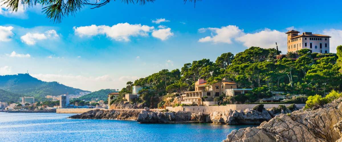 The idyllic coastline of Majorca, Spain