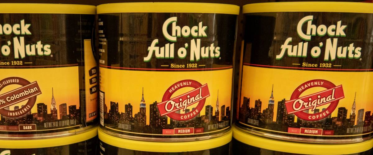 Laguna Hills, Ca / USA - 08/22/2018: Chock full o' Nuts on a Grocery Store Shelf