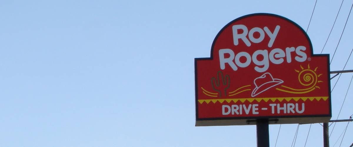 Roy Rogers in Westminster, Maryland