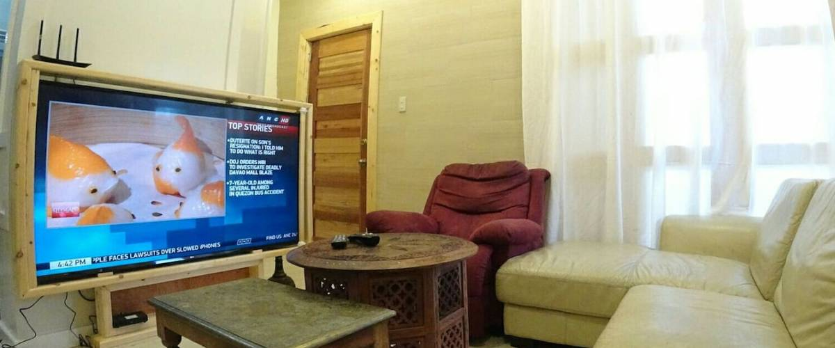 65 inches HDR TV & Fibr Internet PLDT in Baguio, Philippines