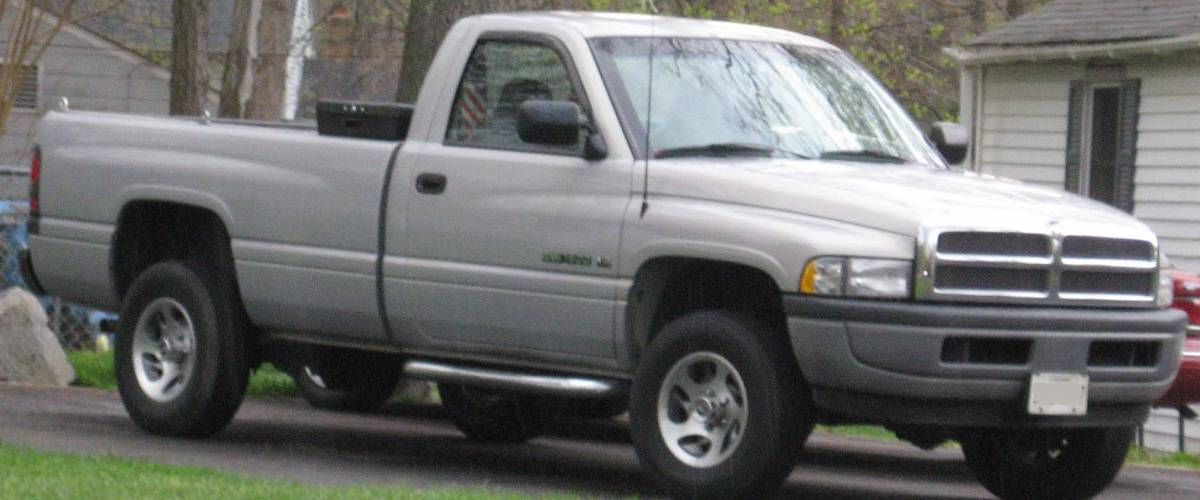 1994-2001 Dodge Ram photographed in USA.