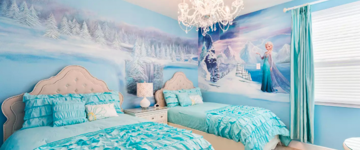 Frozen bedroom