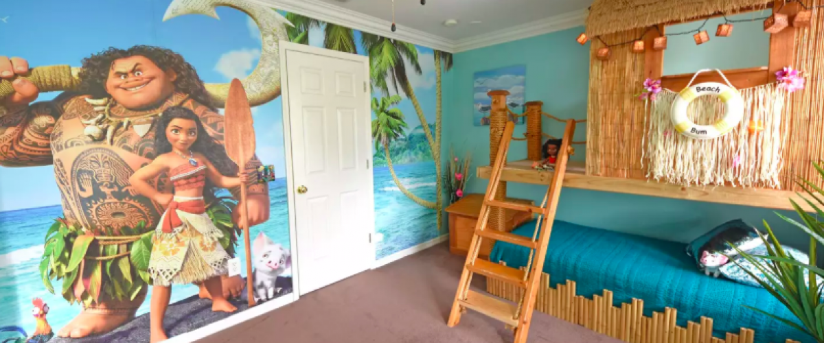 Moana bedroom