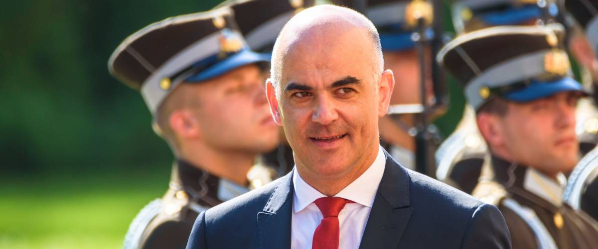 Alain Berset, President of the Swiss Confederation