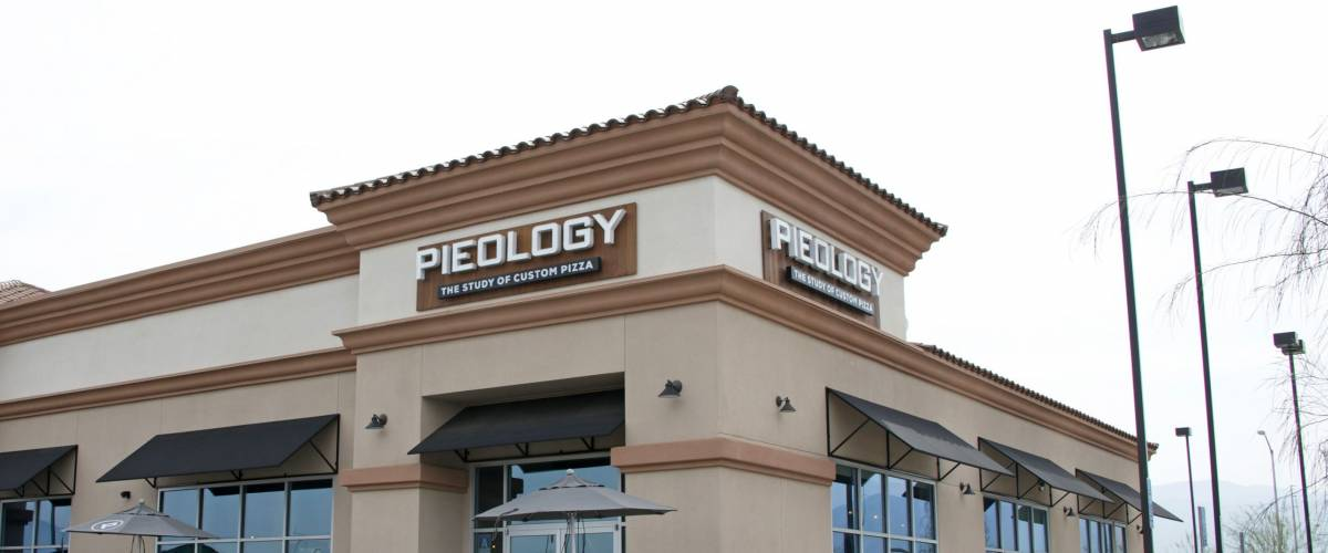 Arvin, CA - March 03, 2016: Pieology Pizzaria