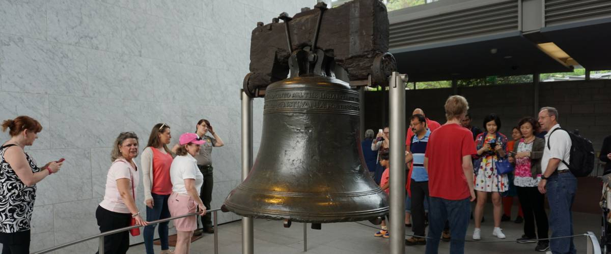 PHILADELPHIA - MAY 9: The Liberty Bell Center