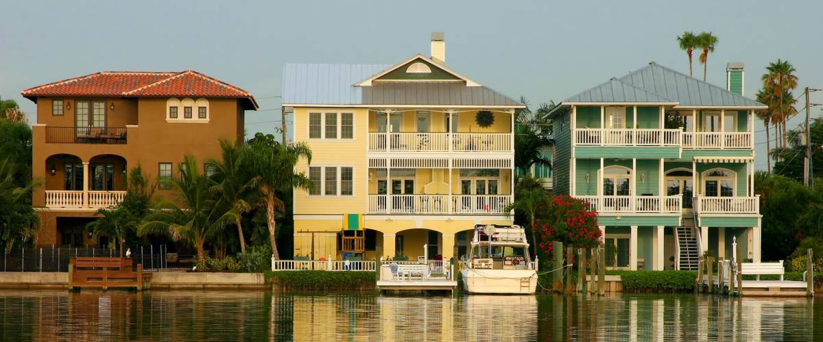 Three Gulf Coast Homes on the Intercoastal  Waterway.