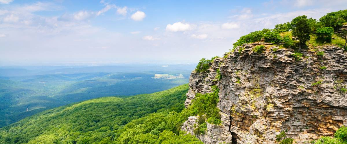 A grand view of Mount Magazine State Park