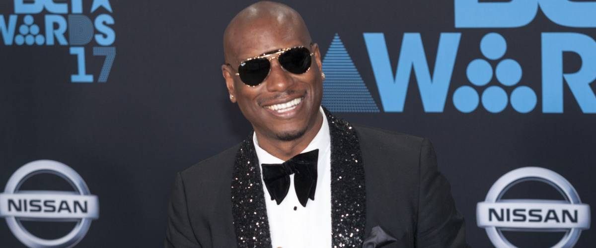 Tyrese Gibson at the 2017 BET Awards