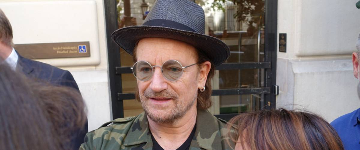 Bono and his hat