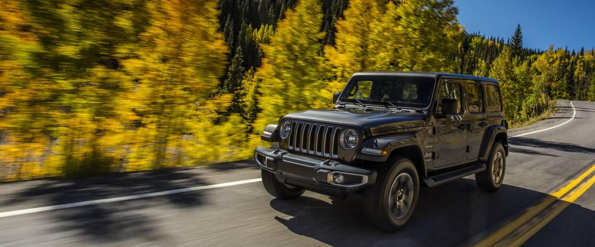2018 Jeep Wrangler Sahara Edition