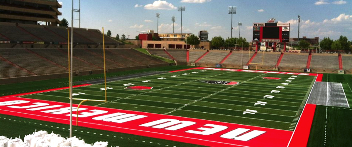 Dreamstyle Stadium at the University of New Mexico.