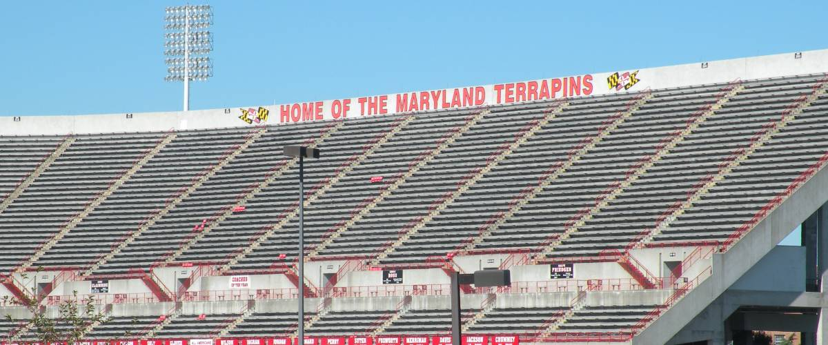 Capital One Field at Maryland Stadium, home to the Maryland Terrapins since 1950