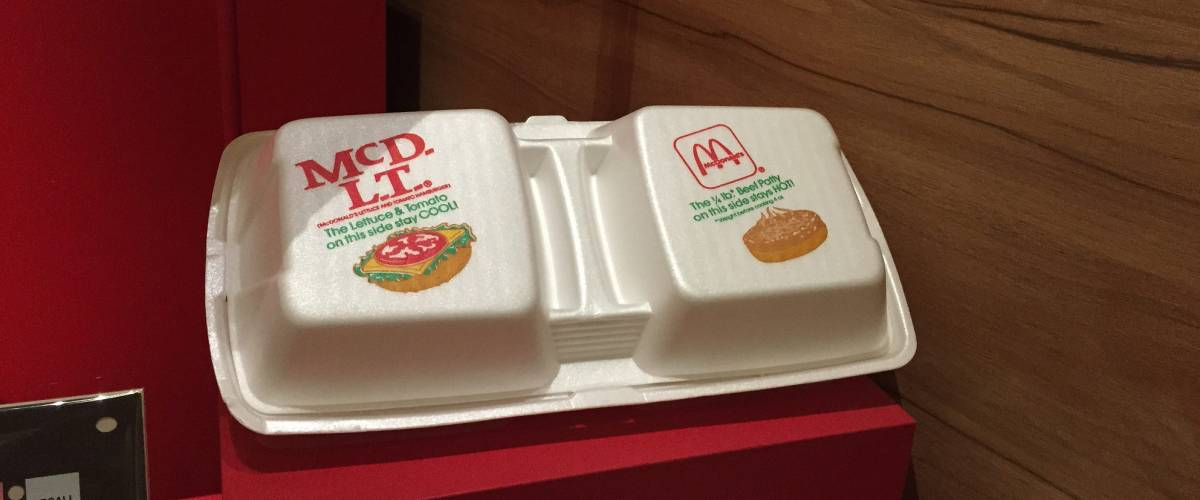 The McDLT two-compartment box