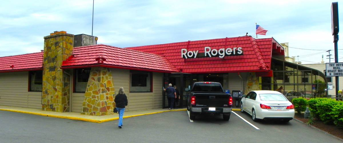 A Roy Rogers restaurant in Maryland