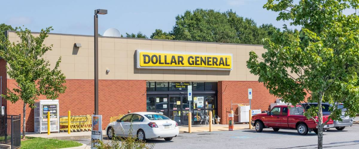 Dollar General is extremely popular in rural areas